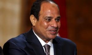Abdel Fatah al-Sisi, president of Egypt