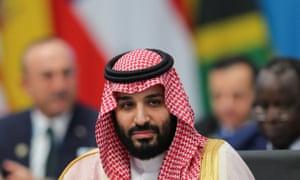 Mohammad bin Salman, the Saudi crown prince.