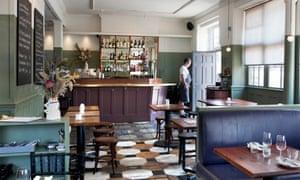 The Duke of Richmond dining room