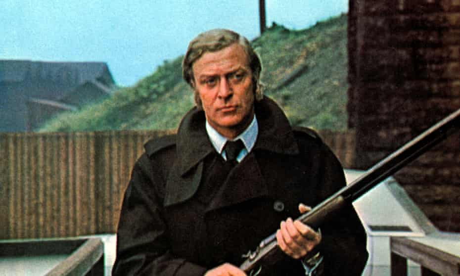 Michael Caine in Get Carter.