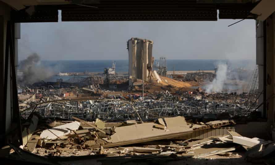 Beirut's port