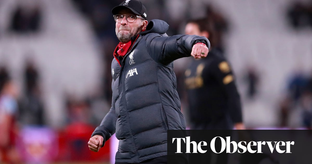 Jürgen Klopp says Liverpool 'not close to being perfect' despite unbeaten run