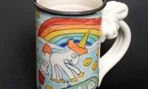 The farting unicorn mug.