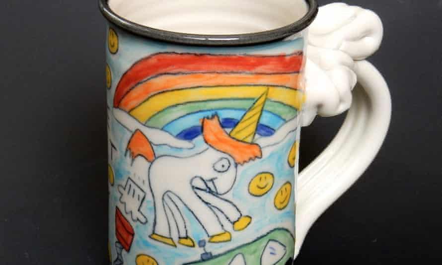 The farting unicorn mug.
