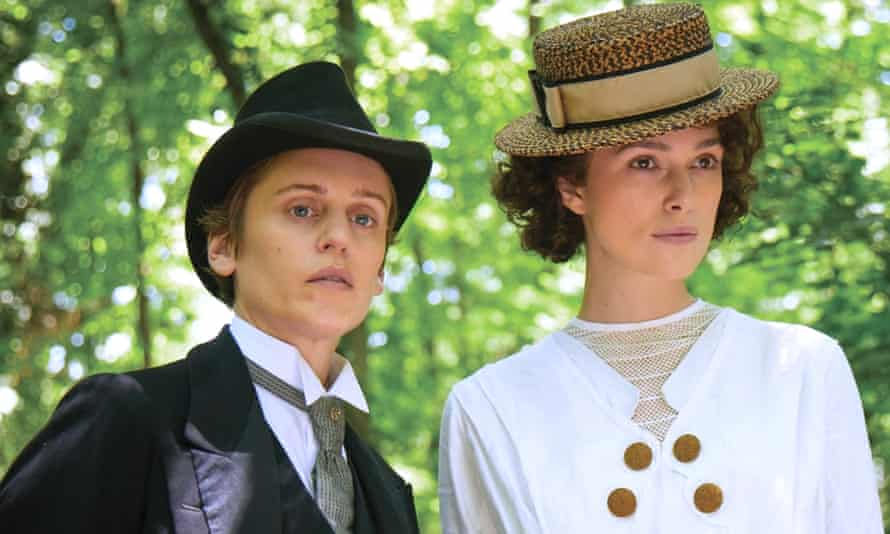 With Denise Gough in Colette