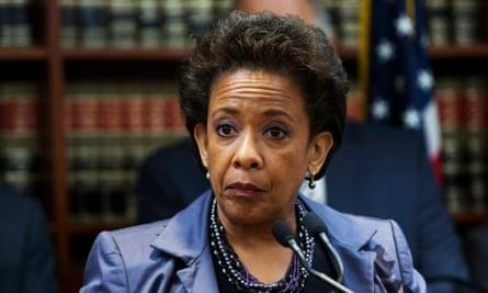 Lynch: America's new attorney general.