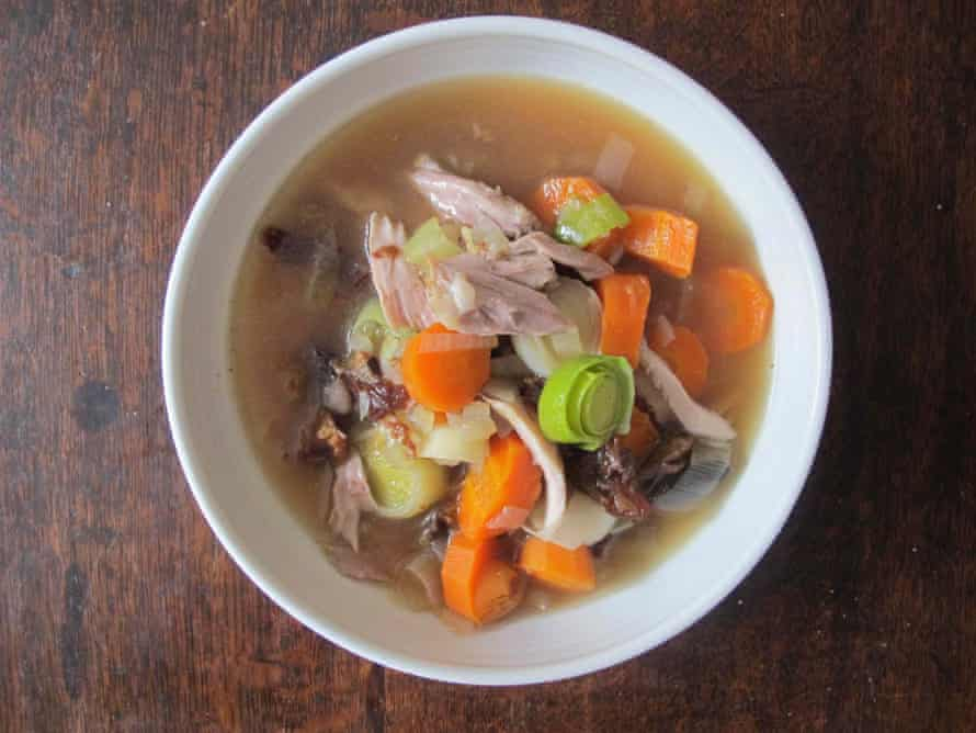 Graeme Taylor's cock-a-leekie soup