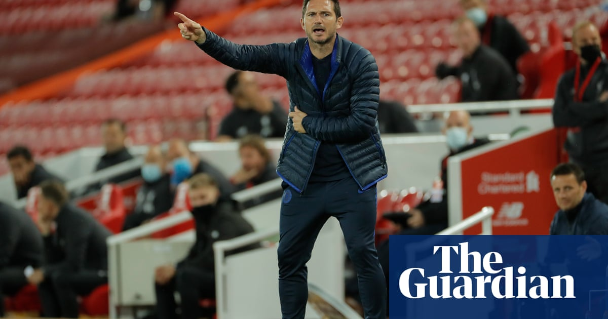 Chelsea top-four destiny in our own hands, says defiant Frank Lampard