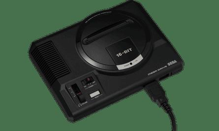 Closely mimics the ghetto-blaster form of the 1988 machine … Sega Mega Drive Mini.