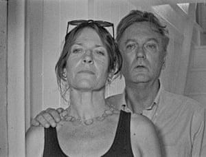 Mary Woodvine and Simon Shepherd as Tim and Sandra in Bait.