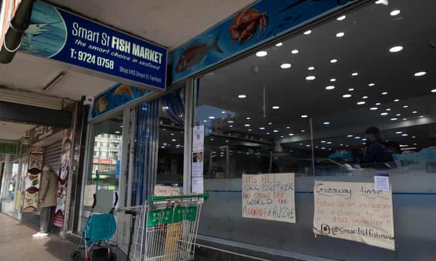 Smart St Fish Market in Fairfield, Sydney