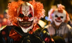 The great clown panic of 2016: ' a volatile mix of fear and