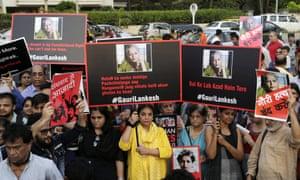The murder of journalist Gauri Lankesh shows India