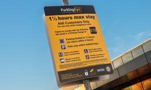 ParkingEye sign