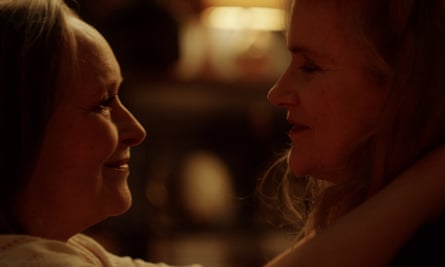 Thwarted love… Barbara Sukowa as Nina, right, and Martine Chevallier, as Madeleine in Two of Us.