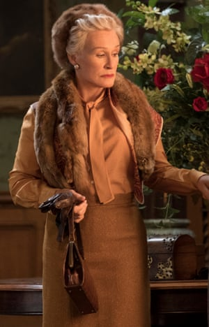 Glenn Close in Agatha Christie's Crooked House