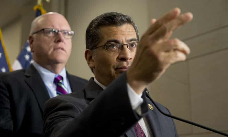 Attorney General Xavier Becerra filed multiple lawsuits against Trump actions.