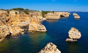 Nooks and crannies: Praia da Marinha, Algarve.