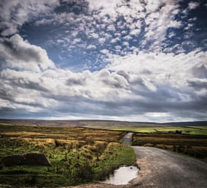 A road linking Yorkshire to Lancashire over the Bowland Fells