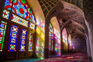 Nasir al-Mulk Mosque in Shiraz