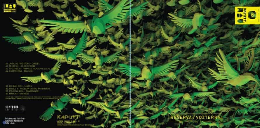 Birds take flight in album artwork