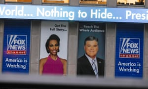 The Fox News offices in New York City, 11 October 2019.