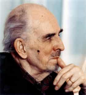 Ingmar Bergman in 2000.