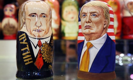 Vladimir Putin and Donald Trump