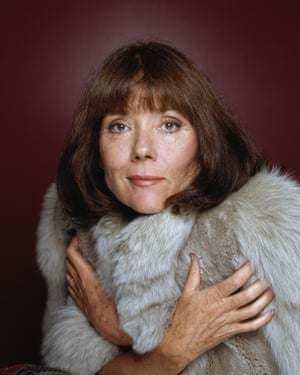 Diana Rigg in the early 1990s