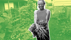 jacqueline smith with carrots