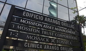 The building in Panama City where the Mossack Fonseca law firm is based