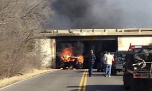 fiery crash kills billionaire oil executive day  justice department charges business