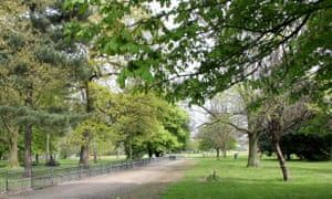 Peckham Rye Park in south London