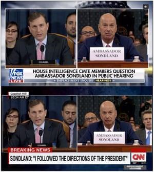 Fox News and CNN's chyrons.