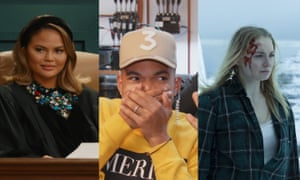 Chrissy Teigen in Chrissy's Court, Chance the Rapper in Punk'd, and Sophie Turner in Survive.