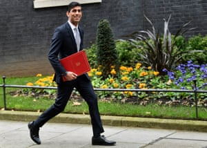 The new chancellor of the exchequer, Rishi Sunak
