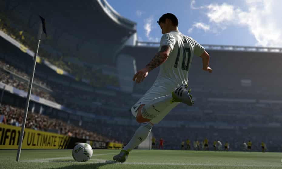 FIFA 17 game screenshot