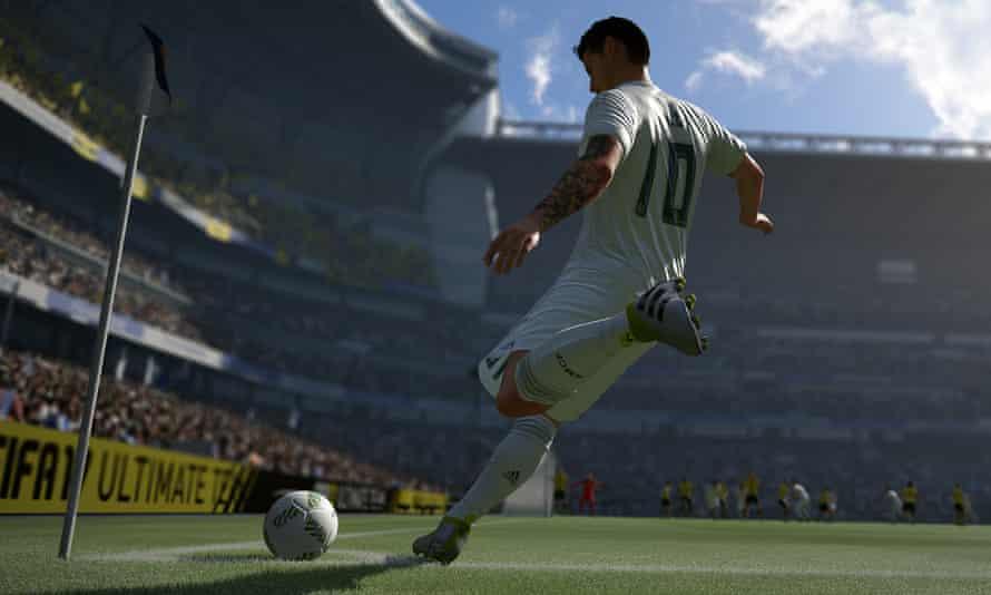 Kicking it up a notch … Fifa 17
