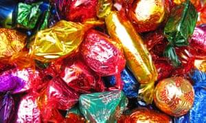 Assorted Quality Street chocolates