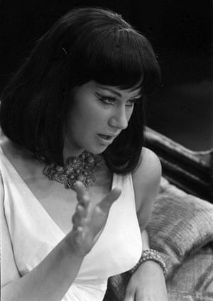 Helen Mirren first played Cleopatra in 1965 in a National Youth Theatre production at London's Old Vic.