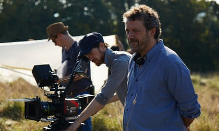 Dominic Dromgoole on the set of Making Noise Quietly.
