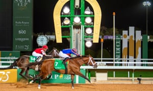 Maximum Security won the $20m Saudi Cup earlier this year