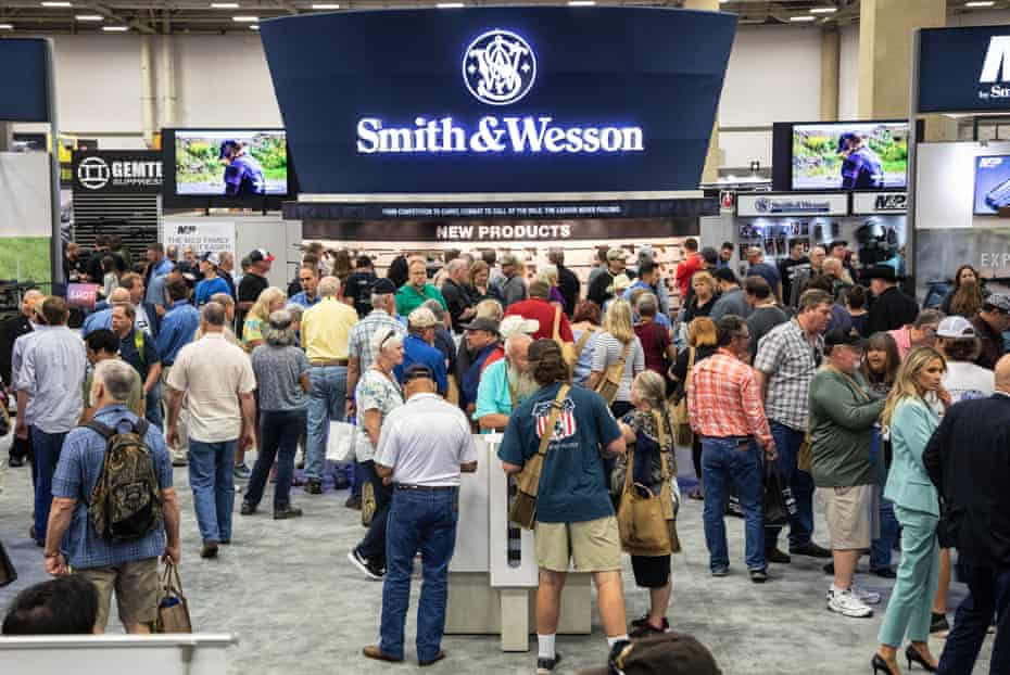 Smith & Wesson at the NRA convention.