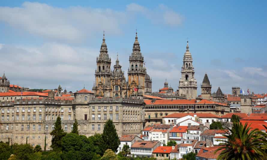Santiago de Compostela cathedral. Galicia, Spain.