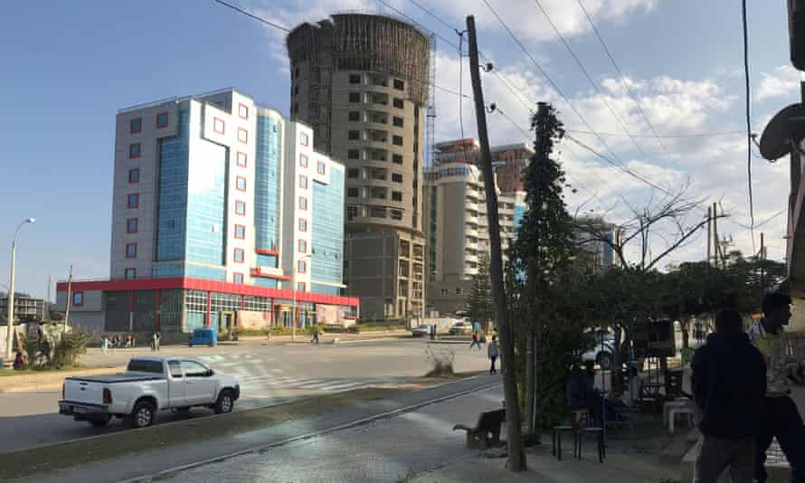 Mekele, the regional capital of Tigray, among the locations hit by airstrikes on Friday.