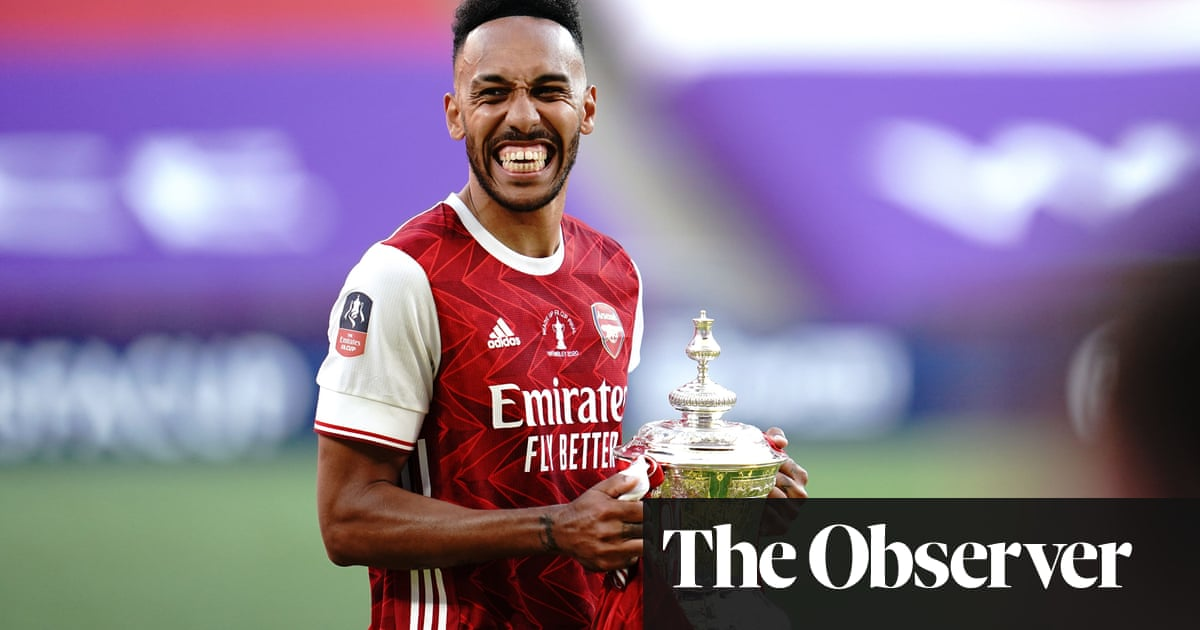 Pierre-Emerick Aubameyang shows why he is Arsenals talisman
