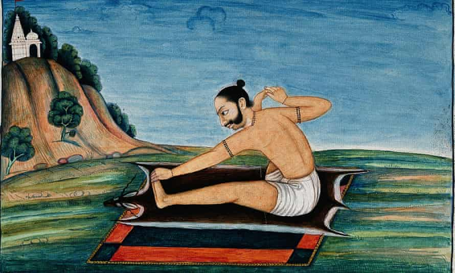 A picture from the Ayurvedic Man exhibition.