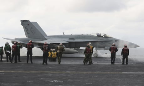 North Korea 'ready for war' after US redeploys navy strike team