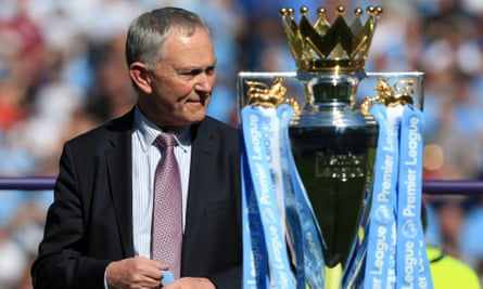 Premier League chief executive Richard Scudamore.