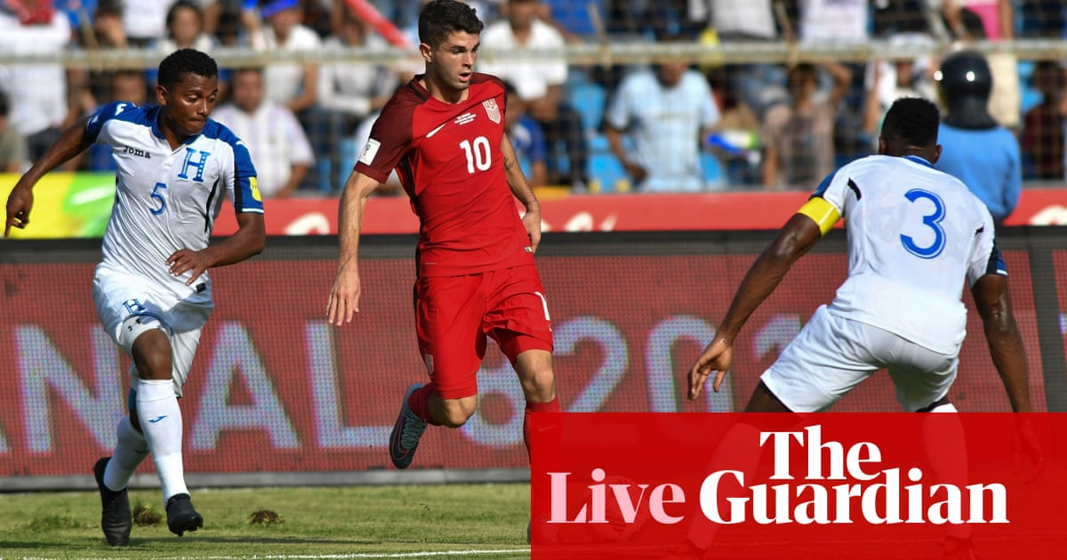 a89476c25d9 Honduras v USA  World Cup 2018 qualifier – as it happened